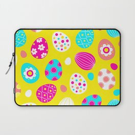 Easter Egg Party Pattern Laptop Sleeve