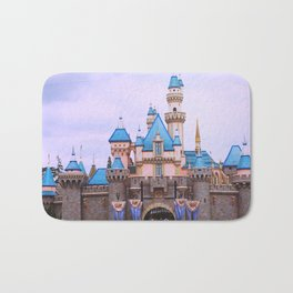 Sleeping Beauty Castle Bath Mat