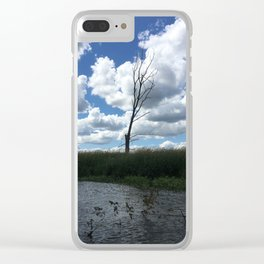 All By Itself Clear iPhone Case