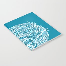 Rough sea (our earth) Notebook