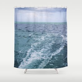 All the Colors of the Sea Shower Curtain