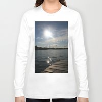 lake Long Sleeve T-shirts featuring Lake by Lalateesa
