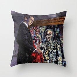Dorian Gray Revisited Throw Pillow