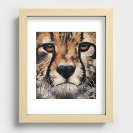 Cheetah, Savannah Hunter Recessed Framed Print