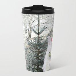 Christmas Cat Travel Mug