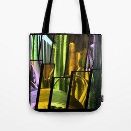 Cactus Garden Tinted 2 Tote Bag