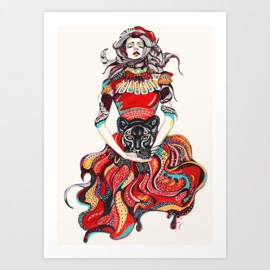 heR-evolution Art Print