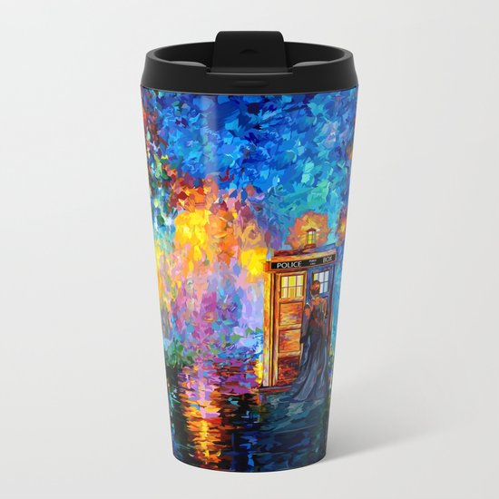 The 10th Doctor who Starry the night Art painting iPhone 4 4s 5 5c 6 7, pillow case, mugs and tshirt Metal Travel Mug