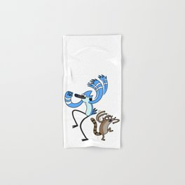 Mordecai & Rigby - Regular Show Hand & Bath Towel
