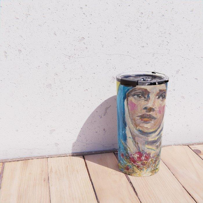 Ecstasy VII. The Annunciation Travel Mug