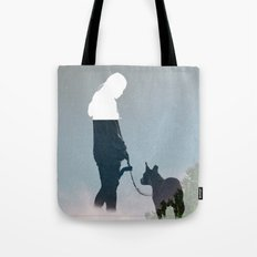 FRIENDSHIP in the space Tote Bag
