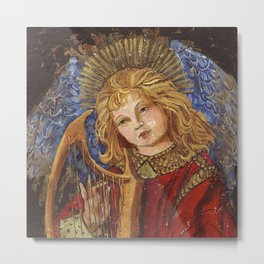 Old World Angel  866 Metal Print