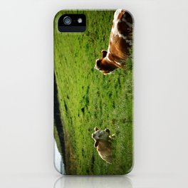 moher cow bell iPhone Case