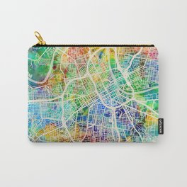 Nashville Tennessee City Map Carry-All Pouch