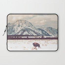 Bison & Tetons Laptop Sleeve