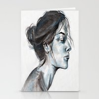 lucy Stationery Cards featuring Lucy by Chloe Gibb
