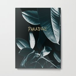 Ficus Elastica PARADISE #1 #decor #art #society6 Metal Print
