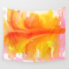 Blurred City Wall Tapestry