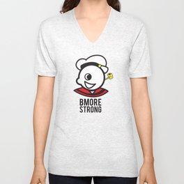 Bmore Strong Unisex V-Neck
