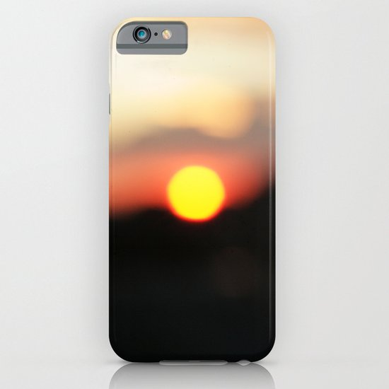 It was all a blur iPhone & iPod Case