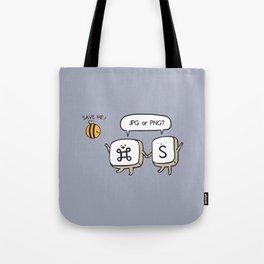 Save the bees jpg Tote Bag