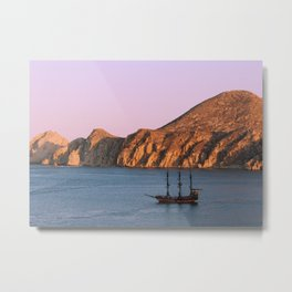 The Lonely Pirates Metal Print