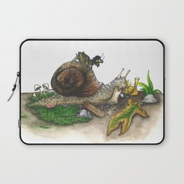 Little Worlds: Snail and Cricket Laptop Sleeve