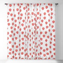 Happy Apples 1 Sheer Curtain