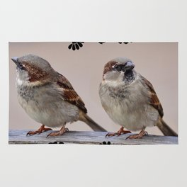 Two Birds on a Branch Rug