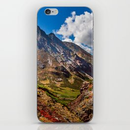 Autumn colors of the old Volсano iPhone Skin