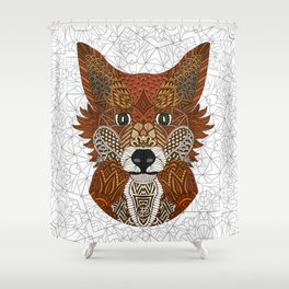 New Fox Shower Curtain
