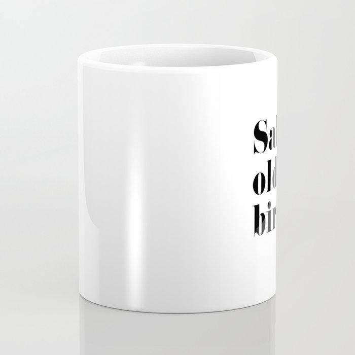 Salty Old Bird Coffee Mug