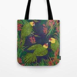 Parakeet Paradise Tote Bag