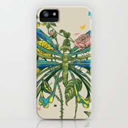 Lifeforms iPhone Case