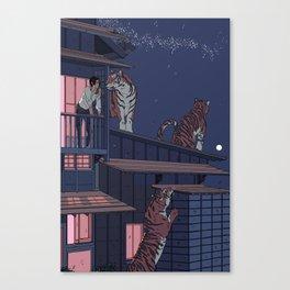 Tiger Playhouse Canvas Print