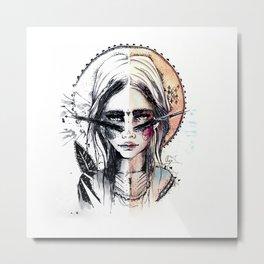 Terra. Metal Print