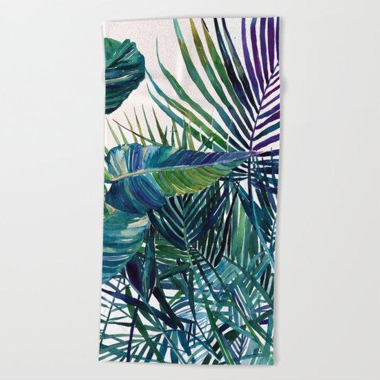 The jungle vol 2 Beach Towel