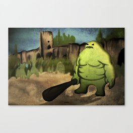 Bridge Guardian Canvas Print