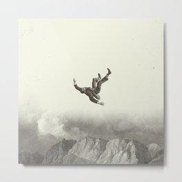 Falling Metal Print