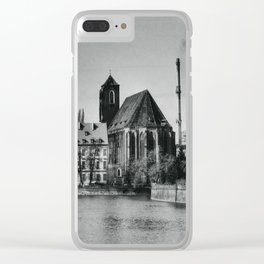 Wroclaw 2 Clear iPhone Case
