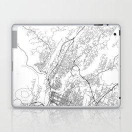 Minimal City Maps - Map Of Chattanooga, Tennessee, United States Laptop & iPad Skin