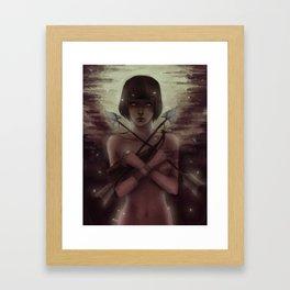Erase Framed Art Print