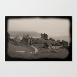 Urquhart Castle, Lock Ness, Scotland Canvas Print