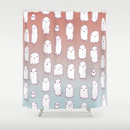 Lil Ghosties Shower Curtain