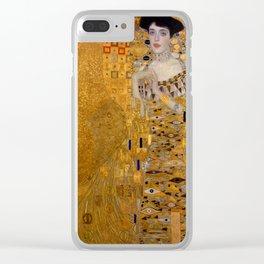 Bloch Bauer by Gustav Klimt Clear iPhone Case