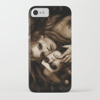 gotham iPhone & iPod Cases featuring Gotham Sirens by Isaiah K. Stephens