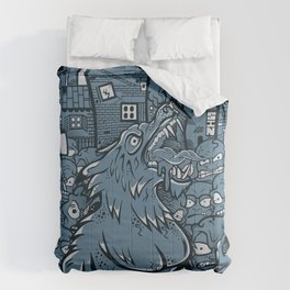 WOLVES OF PERIGORD Comforters