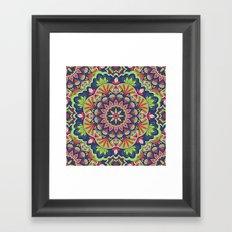 Mandala 47 Framed Art Print