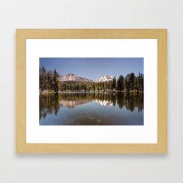 Reflection Lake, Lassen National Park Framed Art Print