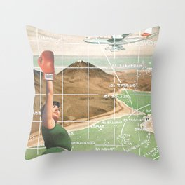 The Boxer /// Ready for you Throw Pillow